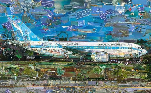 , 'Jetliner, from the series Postcards from Nowhere,' 2014, Glenda Cinquegrana Art Consulting
