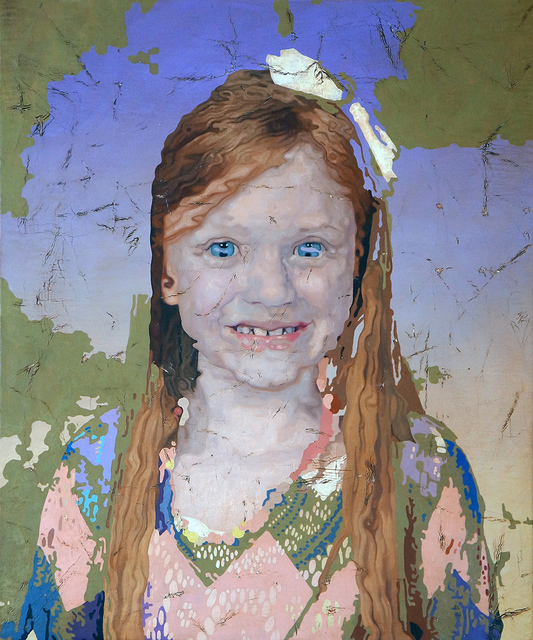 , 'Portrait of a Girl 5,' 2018, Elizabeth Houston Gallery