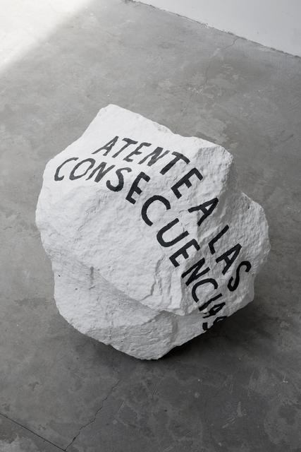 , 'Atente a las consecuencias,' 2017, Parque Galería