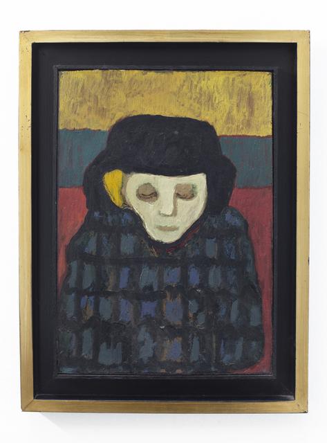 Emilia Gutiérrez, 'Mujer', Undated , Painting, Oil on canvas, Cosmocosa
