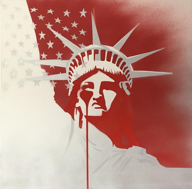 Pure Evil, 'Red Dawn-Amerika', 2019, Corey Helford Gallery
