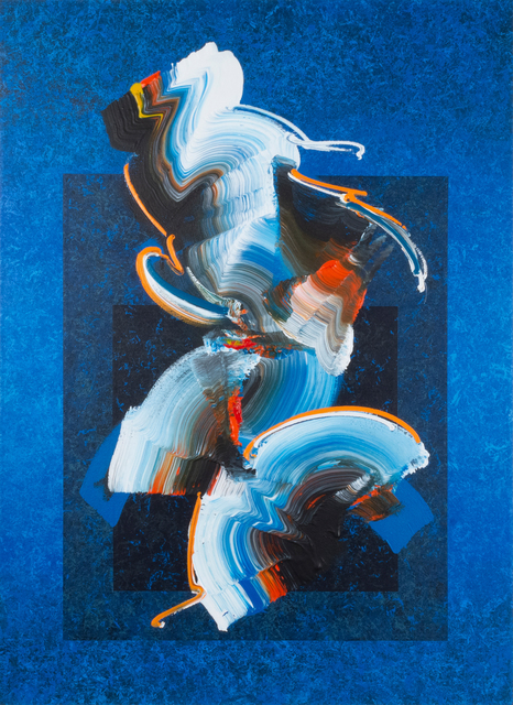 Dennis Kleidon, 'Taliesin Unleashed #3', 2019, Painting, Acrylic on canvas, Walter Wickiser Gallery
