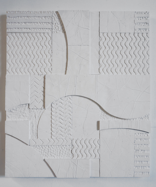 , 'Hydrocal plaster,' 2014, Nicelle Beauchene Gallery