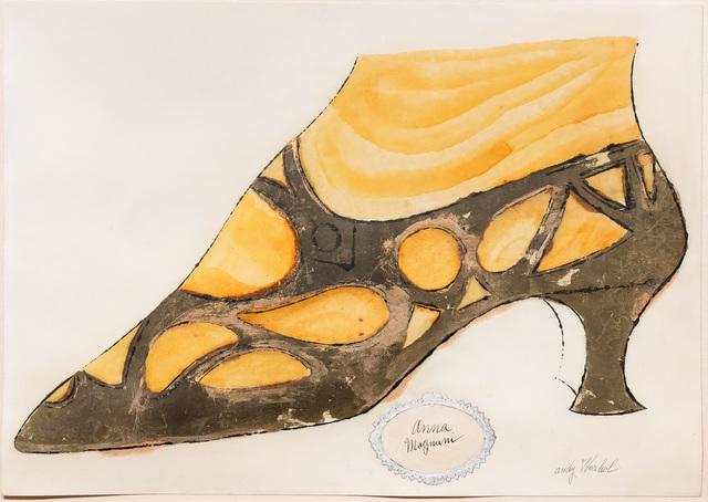 Andy Warhol, 'Anna Magnani', circa 1956, Leslie Sacks Gallery