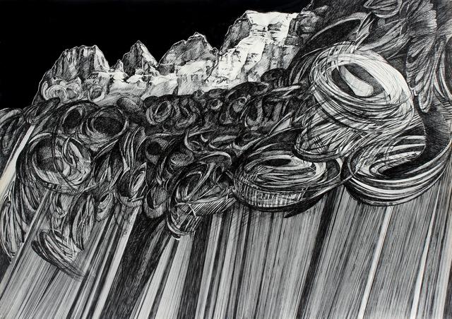 , 'Sturm und Churfisten über die Walensee,' 1978, Benjaman Gallery Group