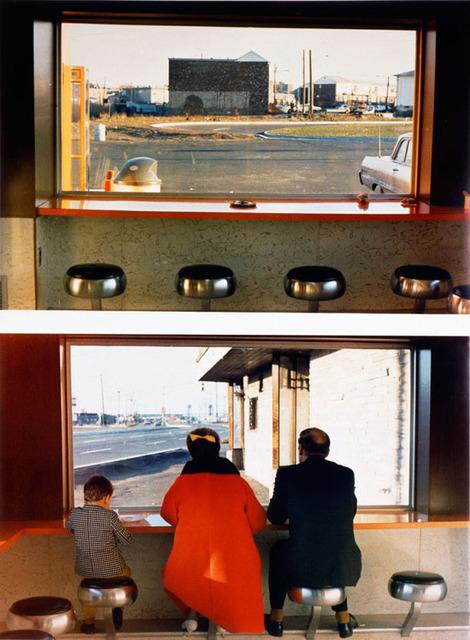 Dan Graham View Interior New Highway Restaurant Jersey