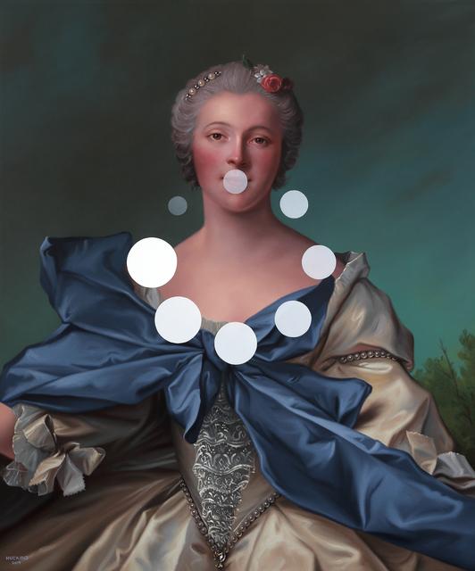 , 'Marie Françoise de La Cropte de St. Abre, Marquise d'Argence: Panic Nine (Buffer Spinner),' 2019, Duran Mashaal