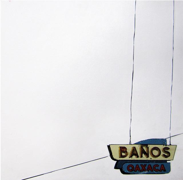 , 'Baño,' 2011, Galería Quetzalli