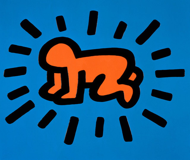 Keith Haring, 'Radiant Baby', 1990, Oliver Clatworthy