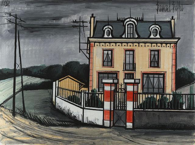, 'Maison Dans La Campagne,' 1982, M.S. Rau Antiques