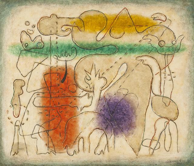 , 'Jacques Callot gewidmet,'  1941, Galerie Schlichtenmaier