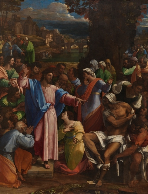 , 'The Raising of Lazarus,' 1517-1519, The National Gallery, London