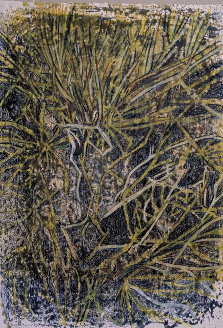 , 'Green Twigs,' 2016, Joshua Tree Art Gallery