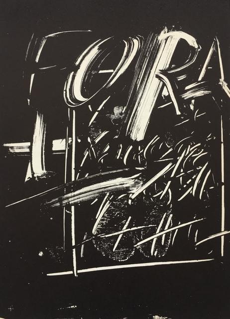 Antoni Tàpies, 'From 'Derrière le Miroir - Tàpies: Monotypes'', 1974, Eames Fine Art