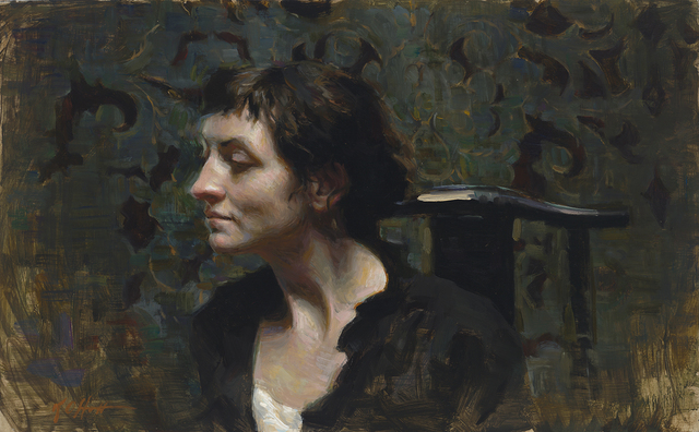 , 'Listen,' , Abend Gallery