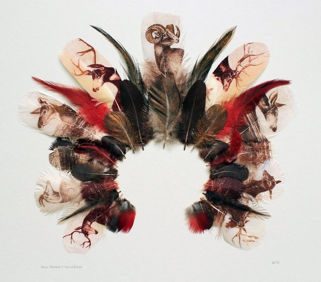 , 'Deer-Stalker's Headdress III,' 2013, Rebecca Hossack Art Gallery