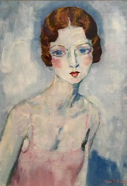 Kees van Dongen, 'La Chemise Rose', 1930, Print, Pochoir, Van der Vorst- Art