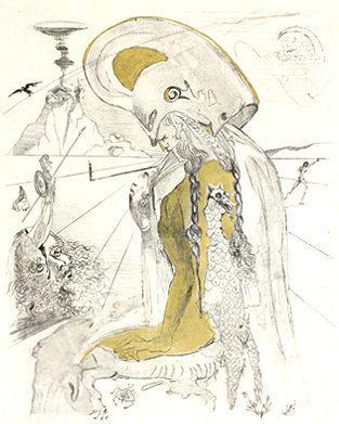 Salvador Dalí, 'Athena', 1963, Puccio Fine Art