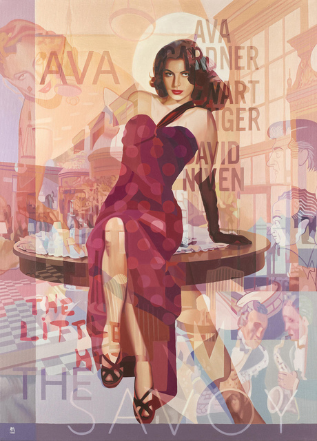 Stuart McAlpine Miller, 'Ava Gardner: A Desirable Proposition', 2018, Castle Fine Art