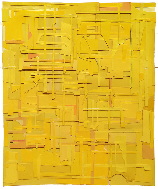 , 'Furze-light, yellow,' 2014, Dolby Chadwick Gallery