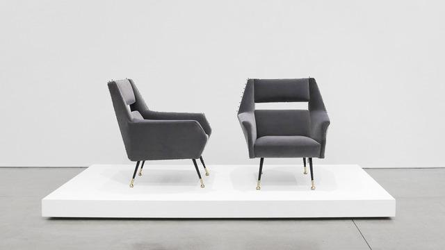 , 'Velvet Lounge Chairs for Minotti,' 1950-1959, Peter Blake Gallery
