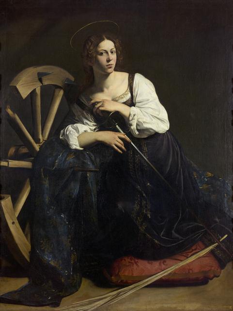 , 'Santa Catalina de Alejandría (Saint Catherine of Alexandria),' 1598-1599, Museo Thyssen-Bornemisza
