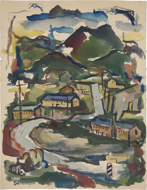 , 'Untitled,' 1945, Richard Diebenkorn Foundation