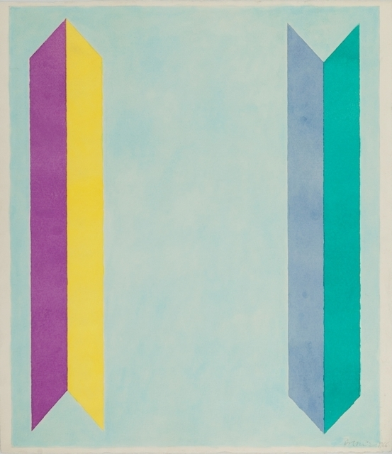 Piero Dorazio, 'Untitled', 1966, Painting, Tempera on Arches paper, Aste Boetto