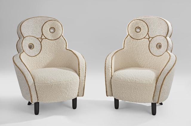 ", 'Pair of ""Maxou""Chair,' 2018, Galerie Dumonteil"
