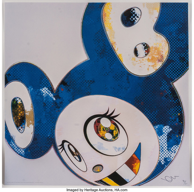 Takashi Murakami, 'And Then x 6 (Blue: The Polke Method)', 2012, Heritage Auctions