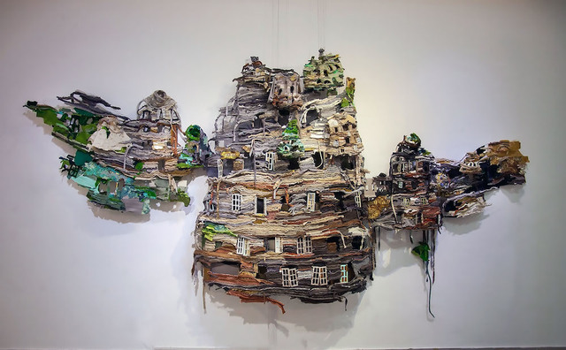 , 'The Present is a Ruin Without the People,' 2016, Asia Society