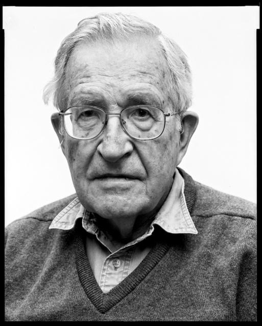 , 'Noam Chomsky, linguist,' 2011, Galerie Julian Sander