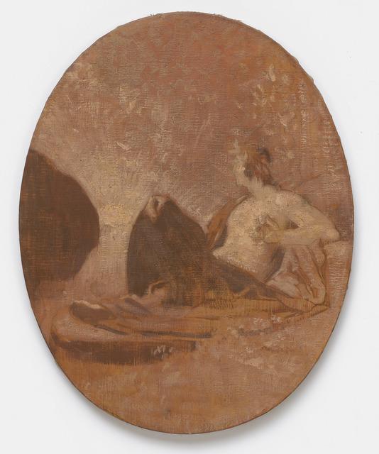 """, '""""La Contemplation (esquisse) (Contemplation [sketch])"""",' 1864, Michael Werner Gallery"""