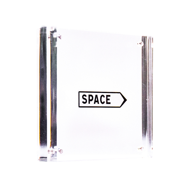 Invader, 'SPACE STICKER (Framed)', 2011, Silverback Gallery