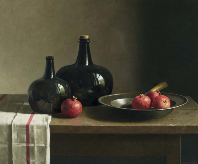 , 'Still Life with pomegranates in a bowl,' 2013, Artvera's Art Gallery