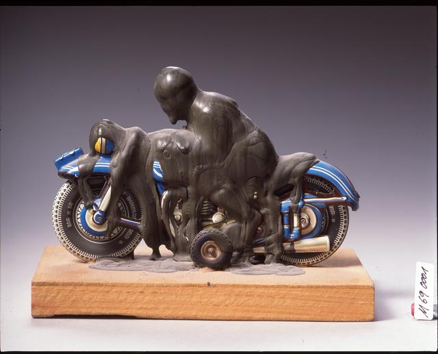 , 'Motorradfahrer,' 1969, LEVY Galerie