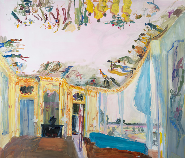 , 'Study Nelie Jacquemarte Resistance Ceiling,' 2014, Locks Gallery