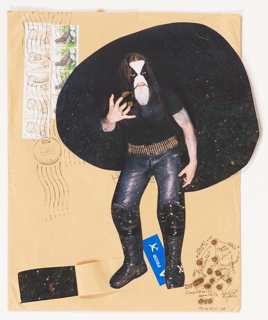 John Bock, 'Untitled', 2002, Mixed Media, Mixed media collage (framed), Rago/Wright