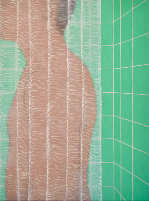 , 'shower ,' 2019, Galerie Claire Gastaud