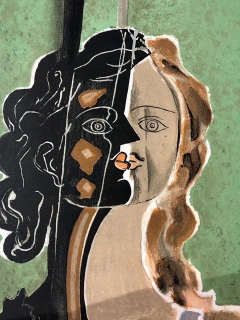 Georges Braque, 'Figure fragments', 1939, Print, Original lithograph on paper, Samhart Gallery
