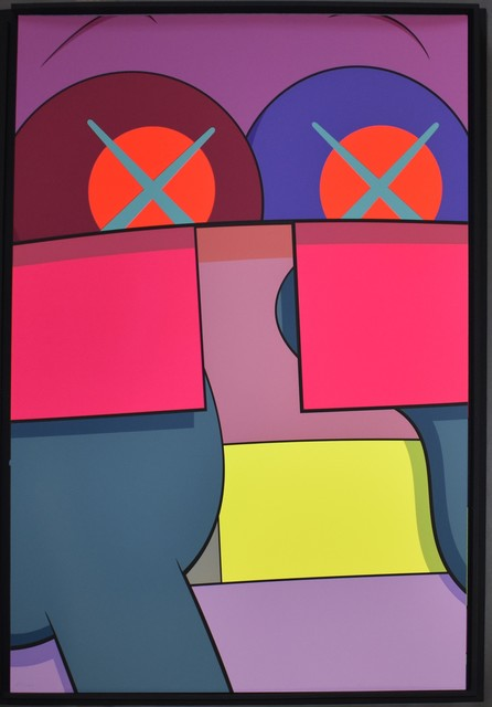 KAWS, 'Ups and Downs 2', 2013, Print, Screenprint on Saunders Waterford High White paper, Georgetown Frame Shoppe