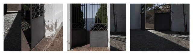 ", 'Cemetario de Portbou (Shadow and Gate), from the series ""Conditions for an Unfinished Work of Mourning: Beauty As an Appeal to Join the Majority of Those Who Are Dead"",' 2017, Tracey Morgan Gallery"