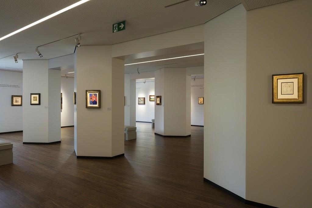 Nolde, Klee & Der Blaue Reiter | installation view |Fondazione Braglia, Lugano (CH) 2015