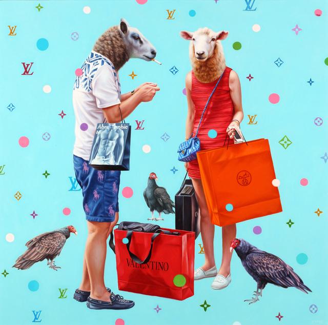 Alex Gross, 'Shopaholics', 2010-2016, Coleccion SOLO