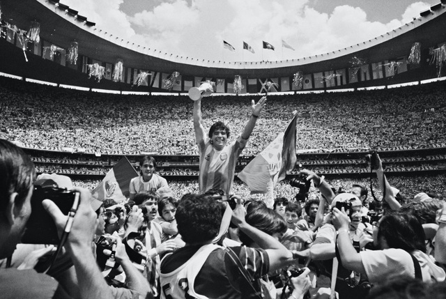 David Yarrow, 'Maradona', 1986, Hilton Asmus