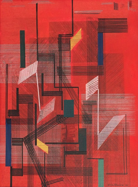 , 'Untitled Abstract,' 1941, Caldwell Gallery Hudson
