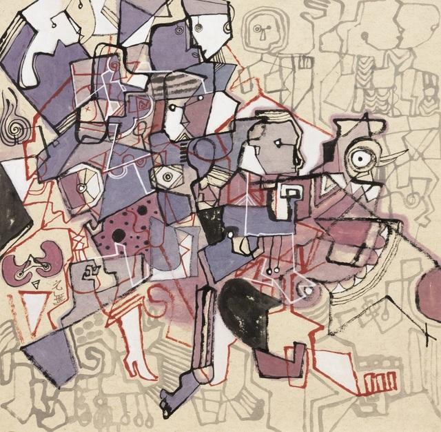 Yuan Wu Zheng  郑元无, 'Layered Blocks No.1', 2017, White Space Art Asia