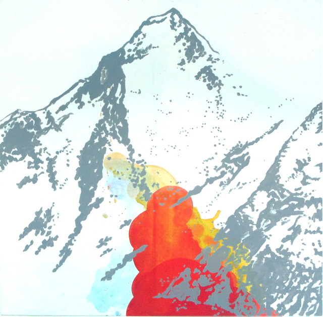, 'Montains (Gasherbrum),' 2015, Galerie Sandhofer