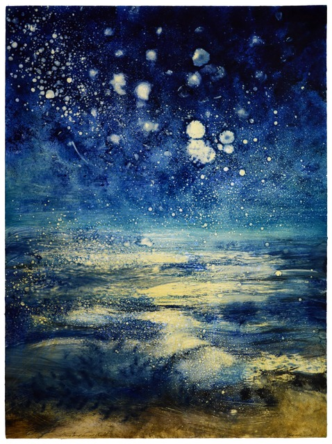 , 'Stars and Sea at Night XVIII,' 2016, Marlborough London
