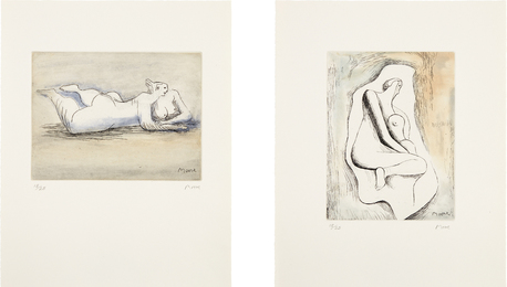 Henry Moore, 'Sketchbook 1928, The West Wind Relief,' 1979-1980, Phillips: Evening and Day Editions